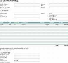 Billing Statement Form Download Billing Statement Template For Free Formtemplate