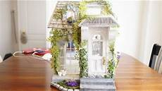 shabby cottage chic diy cardboard miniature dollhouse shabby chic cottage