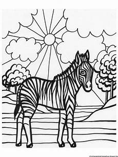 zebra coloring pages free printable coloring pages