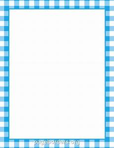 Free Blue Borders Printable Blue Gingham Border Use The Border In Microsoft