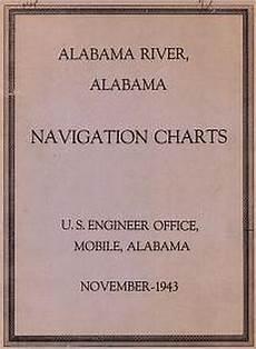 Alabama River Navigation Charts Alabama River Alabama Navigation Charts