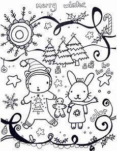 Ausmalbilder Winter Ausdrucken Printable Winter Coloring Pages Marcia Beckett