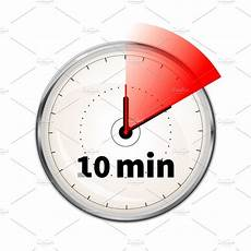 Timer 10 Minutes 10 Minutes Timer Icon Graphic Objects Creative Market