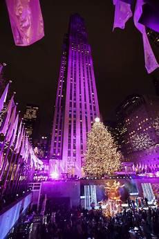 Embarcadero Lighting Ceremony 2018 Sprucing Up Nyc Rockefeller Center Lights Christmas Tree