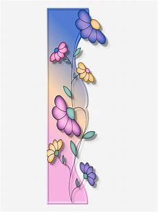 Side Border Designs Borders Cantoneiras Cluster Side Border Flower