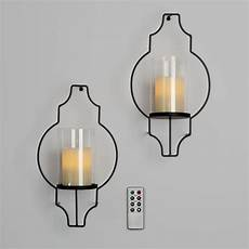 Candle Sconce Light Fixtures Lights Com Flameless Candles Pillar Candles