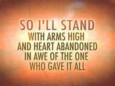 Stand In The Light Lyrics The Stand With Lyrics Youtube
