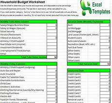Houshold Budget Household Budget Template Household Budget Calculator