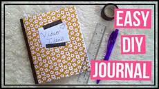Make Your Own Presentation Easy Diy Journal How To Make Your Own Journal Youtube