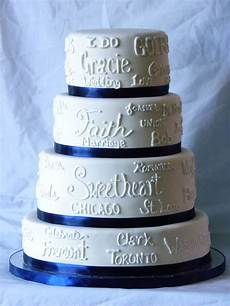 Words To White Wedding Quot Words Quot Wedding Cake All The Words That Inspired The