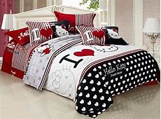 promotion hello comforter bedding sets 4pcs