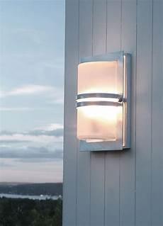 Art Deco Outdoor Wall Lights Norlys Basel Outdoor Wall Light Galvanised Steel Art Deco