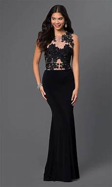sleeveless evening gown lace prom dress