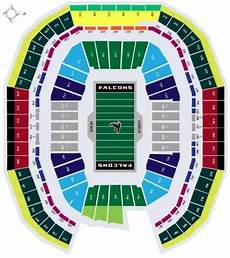 Seating Chart Mercedes Benz Atlanta United Atlanta Falcons Seating Chart Map At Mercedes Benz Stadium