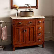 36 quot harington oak vessel sink vanity bathroom vanities