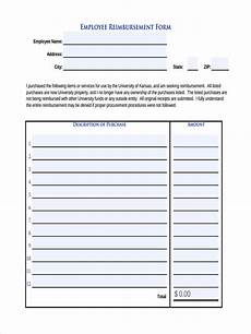 Employee Expense Reimbursement Form Free 9 Sample Request For Reimbursement Forms In Ms Word