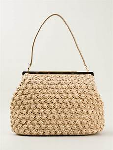 lyst dolce gabbana medium crochet bag in