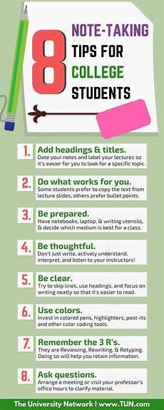 College Study Tips For Freshmen 8 Note Taking Tips For College Students School College