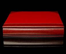 Red Photo Albums Red Two Tone Cover Self Adhesive Photo Album Overall