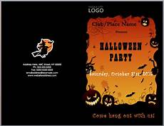 Word Halloween Templates Halloween Party Invitation Template Word Templates For