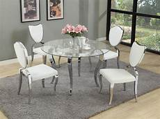 glass dining room sets refined glass top dining room furniture dinette