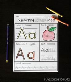 Letter Riting Alphabet Mega Pack Playdough To Plato