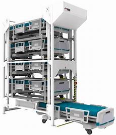 healthcare bed lifts semi automatic vertical bed storage