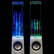 Speakers That Light Up And Shoot Water Usb Water Fountain Speakers Dancing Led Lights Laptop Pc