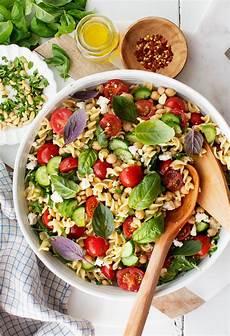 easy pasta salad recipe and lemons