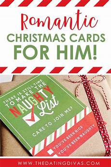 Romantic Christmas Cards Romantic Christmas Cards For Him The Dating Divas