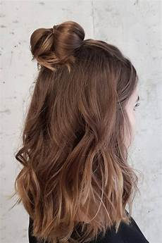 half up half hairstyles we re loving right now