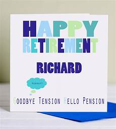 It Goodbye Checks Design Retirement Card Goodbye Tension Hello Pension By