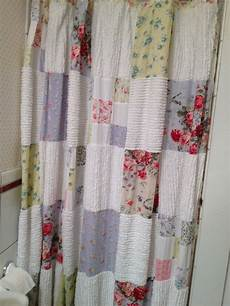 20 patchwork curtains the funky stitch