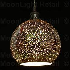 3d Light Shade Modern 3d Colored Oberon Holographic Pendant Ceiling Light