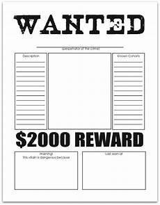 Wanted Poster Template For Pages 8 Ways To Help Kids Stop Making B And D Letter Reversals