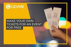 Create Event Tickets Free How To Create Event Tickets For Free