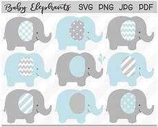 baby elephant svg blue gray elephant clipart boy baby