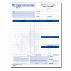 Contractor Quote Form Contractor Invoices Construction Invoice Custom