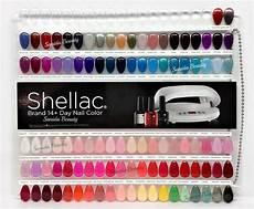 Cnc Gel Polish Color Chart Cnd Painted Color Chart Nail Palette 102 Colour Sampler