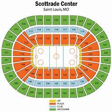 St Louis Blues Seating Chart View Scottrade Center Seating Chart Views And Reviews St