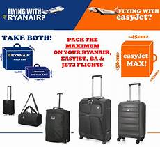 easyjet cabin suitcase ryanair easyjet airways ba max cabin luggage