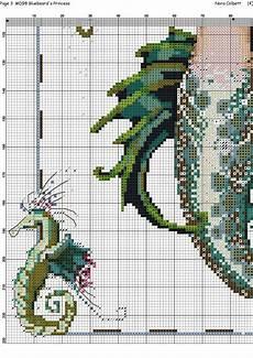 Size Chart For Mermaid 4 5 Mermaid Queen Cross Stitch Chart Dragon Cross Stitch