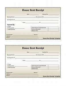 Receipt Of Rent Payment Template Free House Rental Invoice House Rent Receipt Template