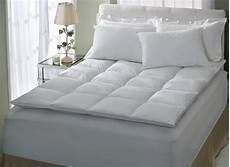 lc modern classics feather bed mattress topper ebay