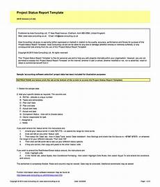 Status Report Formats 40 Project Status Report Templates Word Excel Ppt ᐅ