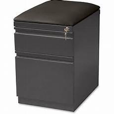 lorell 19 78 d 2 drawer mobile letter size pedestal file