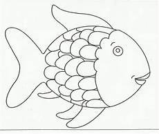Rainbow Fish Template Rainbow Fish Coloring Page Printable Get Coloring Pages