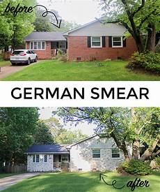 home update german smear on our brick tilley s threads