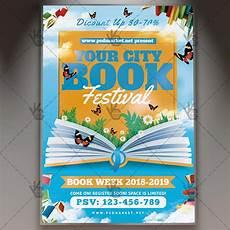 Flyers Book Download Book Festival Flyer Psd Template Psdmarket