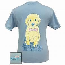 lightweight sleeve t shirt southern bowtie retriever light blue sleeve light blue